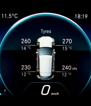 Snímač tlaku pneumatík