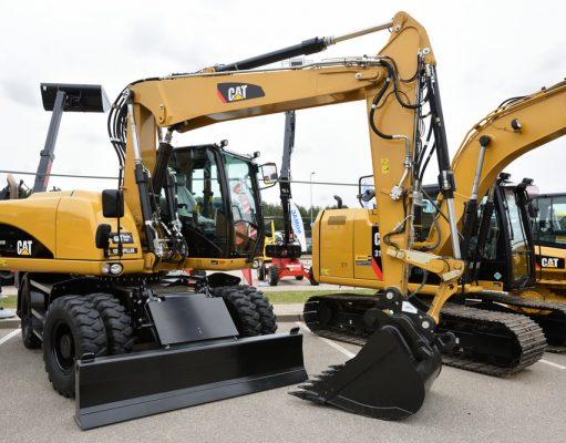 Stavebné stroje CAT: prednosti a využitie