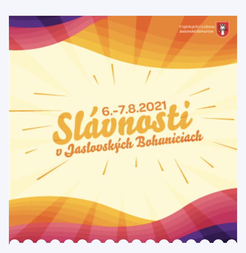 Slávnosti Jaslovské Bohunice 2021