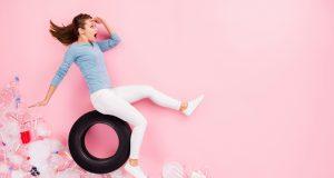 Budúcnosť bude patriť pneumatikám z PET fliaš